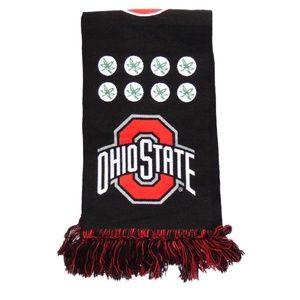 Ohio state buckeyes scarve reversiable